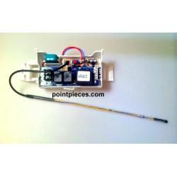 Atlantic, Thermor, Pacific, Sauter, Ensemble thermostat éléctronique mono, non kitable, 070224