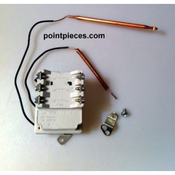 Thermor, Pacific, Thermostat BTS 2 bulbes L370, 070042, 029477